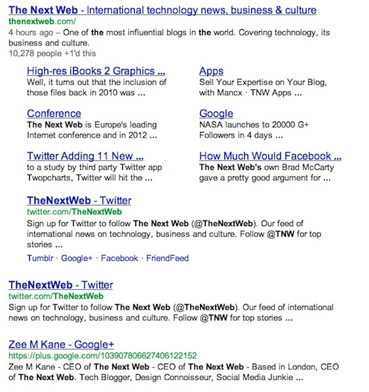 After Twitter, Facebook, MySpace engineers use Googles own algorithm to build a better social search
