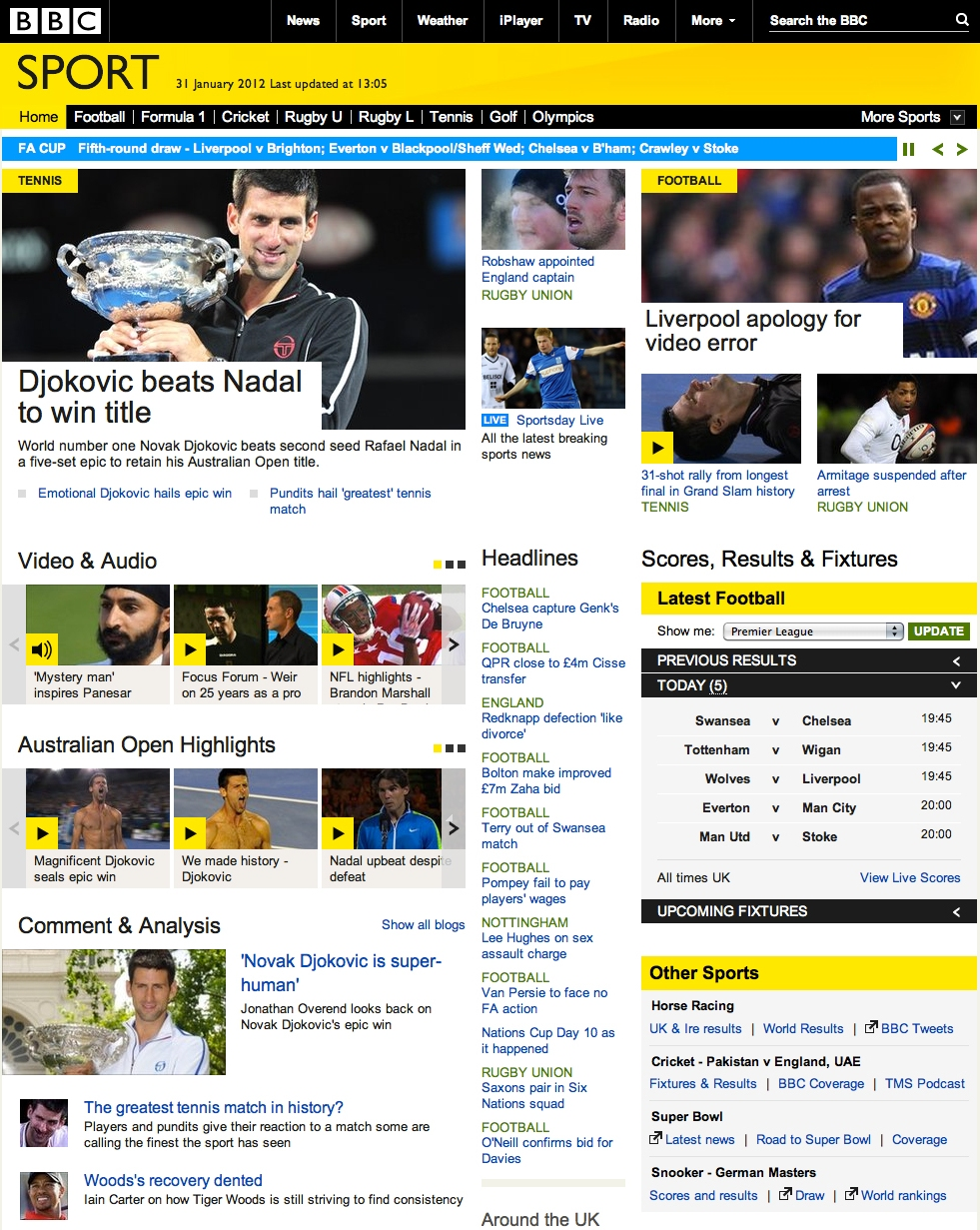 bbc sport com: