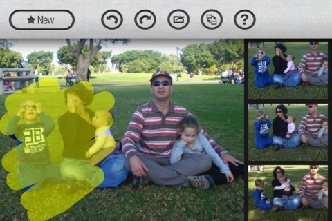GroupShot2 This $0.99 iPhone app magically combines group photos to give you the perfect shot