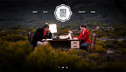 Home POCO PEOPLE copy 16 Beautiful examples of texture in web design