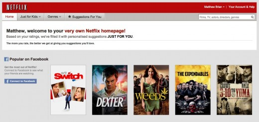 Screen Shot 2012 01 09 at 07.25.04 520x246 Netflix arrives in the UK at £5.99 per month, launches with one month free trial