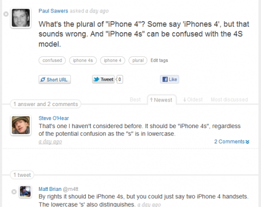 Screenshot 21 520x412 Beepl bats off Quora comparisons to launch its smart, social Q&A platform