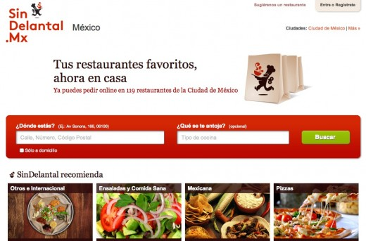 SinDelantal 520x343 Spanish food delivery site SinDelantal buys local startup to expand to Mexico