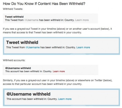 Withheld content 520x462 Worried about possible restrictions on Twitter? Heres how to get around them.