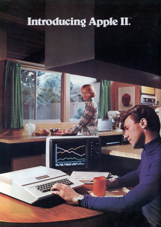 appleII 0 520x734 Design Flashback: 13 delicious posters from the 1970s