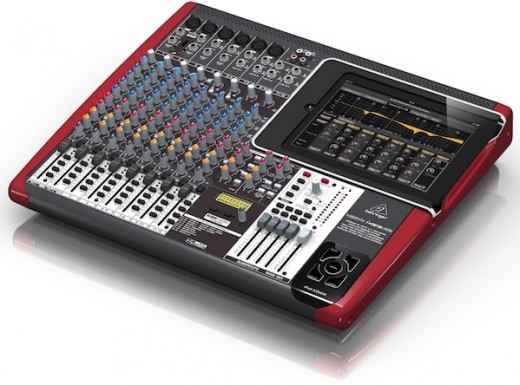 behringer ix1642usbnamammjtjtj1 520x385 Turn your iPad into a serious music making machine with these new accessories