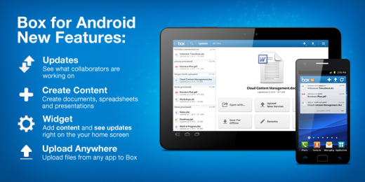 box android newfeatures updates file widget 520x260 Box for Android now lets you upload files from any app