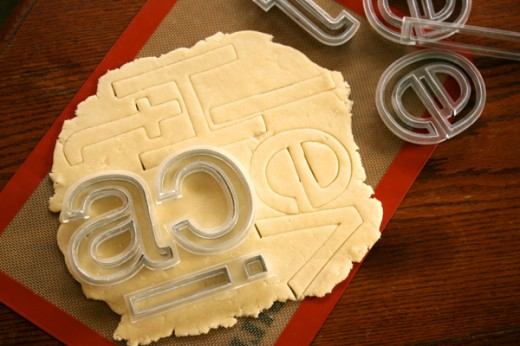 cookiedough 520x346 Now you can have your typography and eat it too