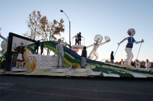 kinect rose bowl float 520x346 How Microsoft built that killer Kinect float at the Rose Bowl