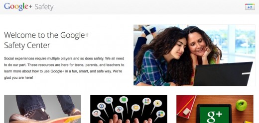 safetycenter 520x248 After some safety tweaks, Google+ opens up its doors to teens