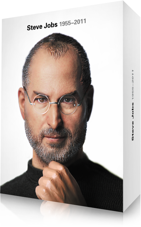 sj box This Steve Jobs action figure is so realistic, its actually kind of freaky