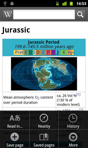 unnamed5 Wikipedia gets an official app for Android, and it already has 10k+ downloads