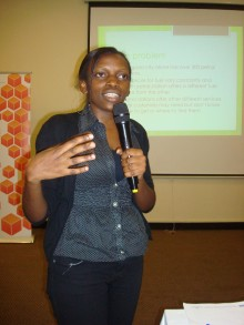 Christine Ampaire presents 220x293 Watch this space: African apps gain global recognition