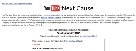 Convofy 145 520x194 YouTube introduces Next Cause program to help nonprofits use its service