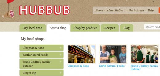 Hubbub 520x247 How social media and collaboration are changing the way we eat