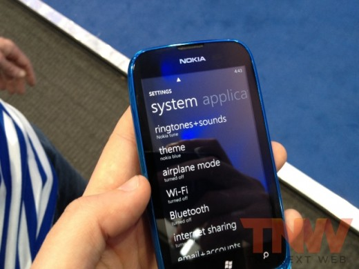 IMG 1791wtmk 520x390 Hands on with Nokias Lumia 610, its cheapest Windows Phone yet [Photos]