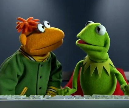 Scooter and Kermit What I learned on Twitter today (but mostly in the last 3 minutes)