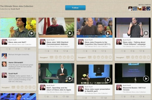 Screen Shot 2012 02 15 at 2.34.39 PM 520x342 Check out this insanely extensive and inspiring archive of Steve Jobs videos