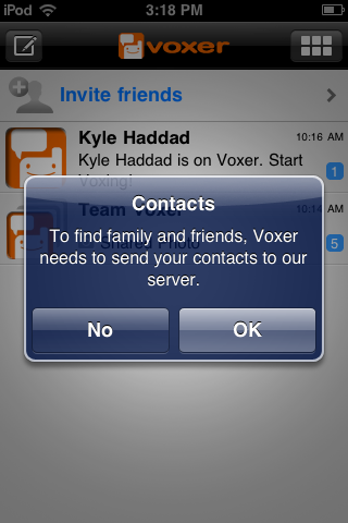 Voxer What iOS apps are grabbing your data, why they do it and what should be done