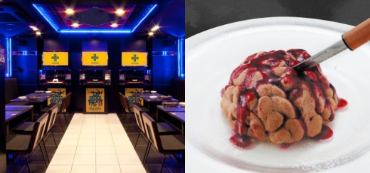 capcombar2 520x243 Video game inspired restaurant lets you eat brains and drink vaccines