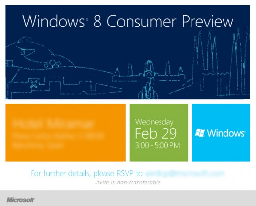 image002 1 520x420 Microsoft to hold Windows 8 Consumer Preview event in Barcelona on February 29th