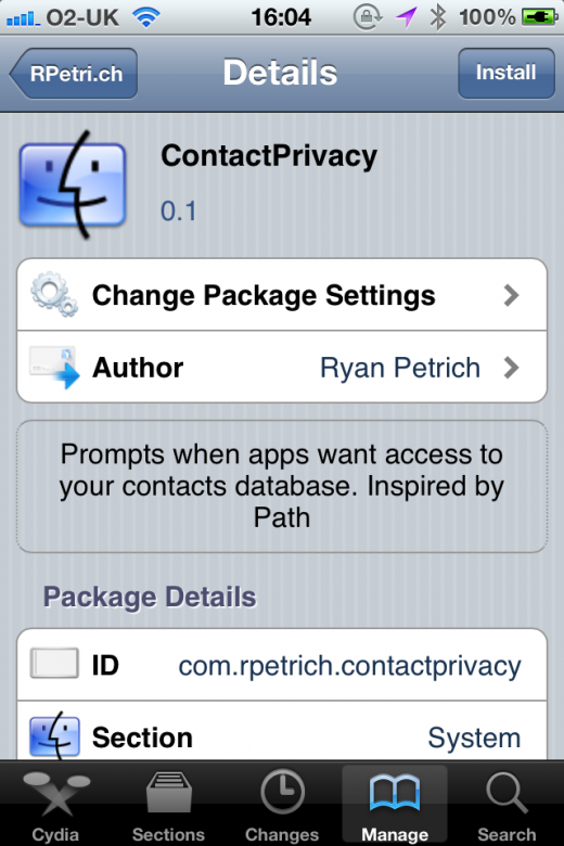 photo2 520x780 Dont want apps uploading your iPhone contacts? This Cydia tweak stops them
