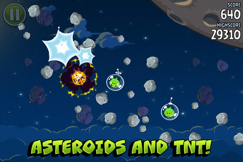 Rovio launches Angry Birds Space, crashes on to iOS, Android, PC and Mac from 99¢
