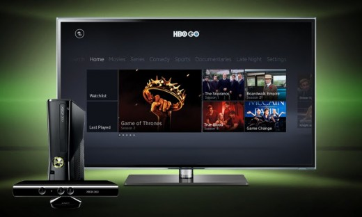 HBOGO 520x312 HBO Go, Comcast Xfinity and MLB.tv launch on Xbox Live today