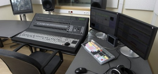 audio edititng studio