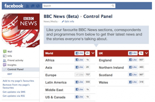 Screen Shot 2012 03 06 at 12.58.25 520x343 The BBC launches Facebook News Control Panel to personalize your social news feed
