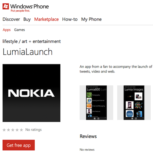 app free nokia Why the Windows Phone Marketplace is looking more like a slimy app cesspool every day