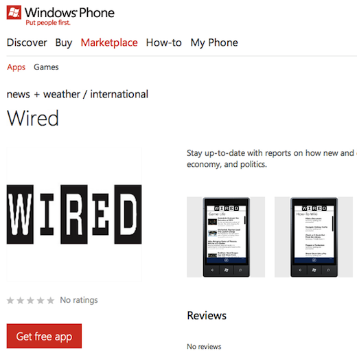 app free wired Why the Windows Phone Marketplace is looking more like a slimy app cesspool every day