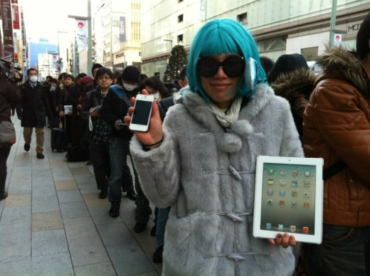apple ipad japan2 520x388 Queues and midnight launches as Apples new iPad goes on sale in Australia, Japan and Singapore