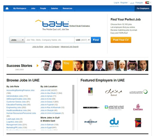 bayt1 Middle East job portal Bayt sees a major revamp, adds analytics and real time CV translation