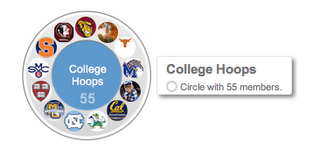 collegehoops circle Google gears up for March Madness with live ESPN Google+ hangouts and more