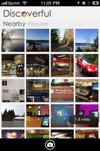 disc1 LOCQL abandons local Q&A idea in favor of visual discovery iPhone app Discoverful