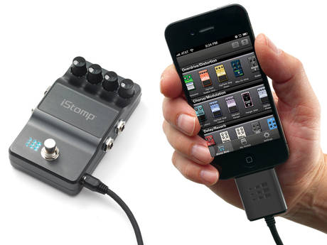 iStomp Turn your iOS device into a guitar effects powerhouse with the Digitech iStomp and iPB 10