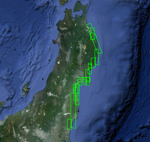 japan1 520x491 Google Maps adds new satellite imagery of Japan one year after the tsunami
