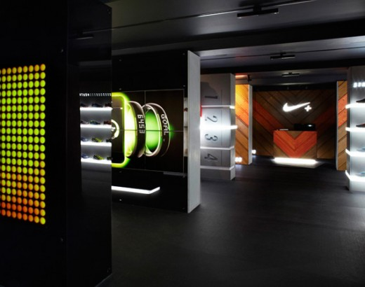 nike plus fuelstation boxpark shoreditch london england 05 520x410 The world's first Nike+ FuelStation opens in London, designed for digitally enabled athletes