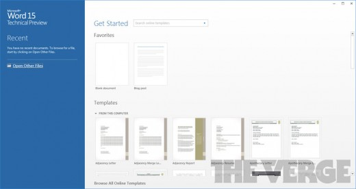 office15techpreview 1020 gallery post 520x276 Office 15 embraces Metro, looks beautiful & packs brand new features