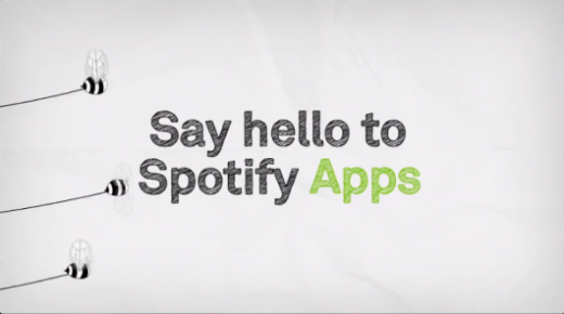 spotify apps 520x290 The music industry is set for a marketing revolution as APIs go mainstream