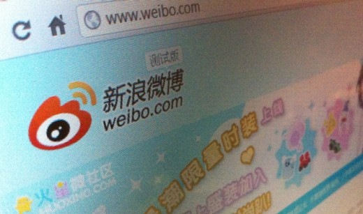 weibo screenshot 520x307 Chinese Web giant Sina admits slow application of microblog rules, fears new government crackdown