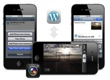 wordpress for ios 220x161 How to launch a startup without knowing a line of code