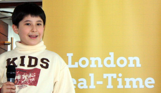 10yrold London Real time hack event ends with exhausted and innovative winners