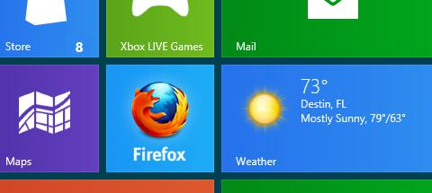 11 Mozilla flashes Windows 8 Metro prototype of Firefox