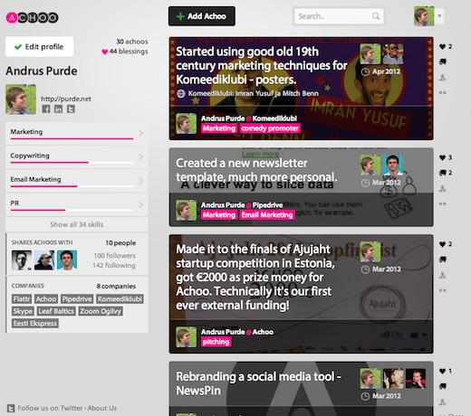 choo2 copy Meet Achoo, the company that wants to make bragging socially acceptable