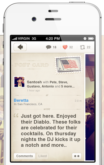 dab Former Twitter VP launches location based photo journal app called Dabble