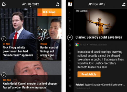 f 520x376 MustKnow News: This iOS app gives you the top 10 news stories by the hour