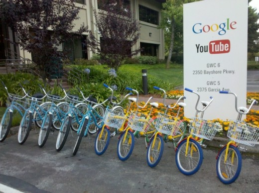 gbike 520x388 Google updates its campus GBikes, will provide 1,000 for employees at its headquarters