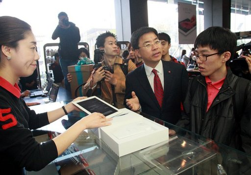 ipad kkorea 2 Queues in Malaysia and Korea as Apples new iPad goes on sale in 12 more countries